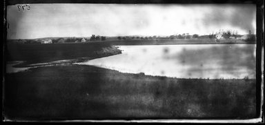 George Bradford Brainerd (American, 1845-1887). Distant View, Water Mills, Long Island, ca. 1872-1887. Collodion silver glass wet plate negative Brooklyn Museum, Brooklyn Museum/Brooklyn Public Library, Brooklyn Collection, 1996.164.2-599