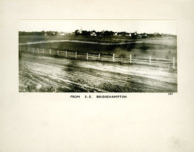 George Bradford Brainerd (American, 1845-1887). From Southeast, Bridgehampton, Long Island, ca. 1872-1887. Collodion silver glass wet plate negative Brooklyn Museum, Brooklyn Museum/Brooklyn Public Library, Brooklyn Collection, 1996.164.2-607