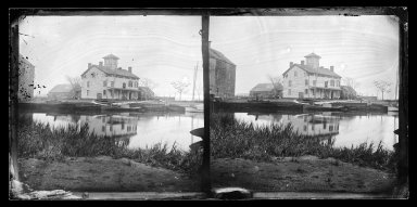 George Bradford Brainerd (American, 1845-1887). Forbel's Landing, Brooklyn, ca. 1900. Collodion silver glass wet plate negative Brooklyn Museum, Brooklyn Museum/Brooklyn Public Library, Brooklyn Collection, 1996.164.2-828