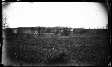 George Bradford Brainerd (American, 1845-1887). St. Johnland and Distant Buildings, Long Island, ca. 1872-1887. Collodion silver glass wet plate negative Brooklyn Museum, Brooklyn Museum/Brooklyn Public Library, Brooklyn Collection, 1996.164.2-88