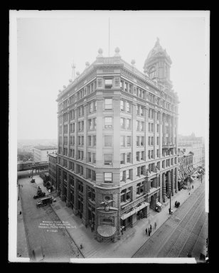 Brooklyn Museum: Brooklyn Eagle Building, Washington and Johnson Streets, Brooklyn