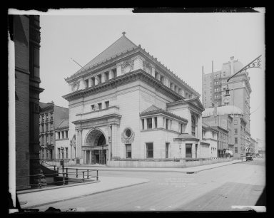 Brooklyn Museum: Brooklyn Savings Bank, Clinton and Pierrepont Streets, Brooklyn
