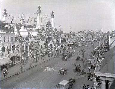 Brooklyn Museum: Luna Park and Surf Avenue, Coney Island