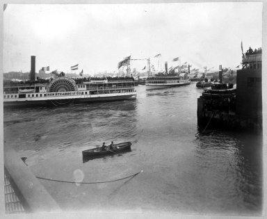 Brooklyn Museum: Boat, Water