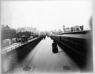 Breading G. Way (American, 1860-1940). [Untitled], ca. 1888. Cellulose nitrate negative Brooklyn Museum, Brooklyn Museum/Brooklyn Public Library, Brooklyn Collection, 1996.164.9-5