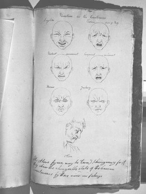 Jefferson Gauntt (American, 1805-1864). Sketchbook, 1822. Graphite, red pencil, ink, and watercolor on paper, 14 x 8 7/8 x 3/16 in. (35.6 x 22.5 x 0.5 cm). Brooklyn Museum, Gift of Nancy Winslow Parker, 1996.192