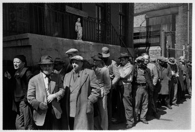 Brooklyn Museum: Catholic Worker Soup Kitchen Line