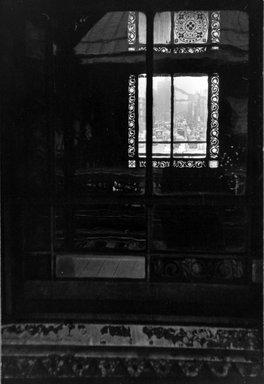 Vivian Cherry (American, born 1920). 3rd Avenue EL  (Looking Through  Window), 1955. Gelatin silver photograph (vintage), 9 1/2 x 13 1/2 in. (24.2 x 34.3 cm). Brooklyn Museum, Gift of Steven Schmidt, 1996.241.20. © Vivian Cherry