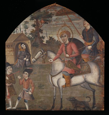 Brooklyn Museum: Sultan Sanjar and the Old Woman