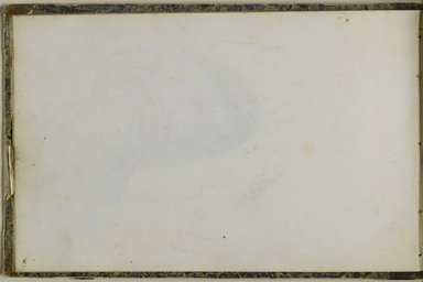 Peter Frederick Rothermel (American, 1817-1895). Sketchbook, 1857. Graphite with ink and watercolor on cream, medium-weight, slightly textured wove paper, 5 11/16 x 8 5/8 x 3/8 in. (14.4 x 21.9 x 1 cm). Brooklyn Museum, Purchase gift of Mr. and Mrs. Leonard L. Milberg, 1997.129