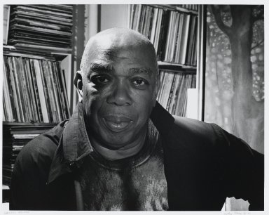 Arthur Mones (American, 1919-1998). Geoffrey Holder, 1994. Gelatin silver photograph on fiber based paper, sheet: 10 3/4 x 14 in. (27.2 x 35.6 cm). Brooklyn Museum, Gift of the artist, 1997.162.7. © Estate of Arthur Mones