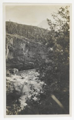 Unknown. [Untitled] (River Rapids in a Gorge), ca. 1900. Gelatin silver photograph, 5 1/4 x 3 1/8 in. (13.3 x 8.0 cm). Brooklyn Museum, Gift of Sasha Nyary and Family, 1997.163.7