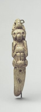 Taino. Ritual Spatula or Swallow Stick, 1200-1500. Bone, 6 1/2 x 1 1/4 x 2 1/2 in. (16.5 x 3.2 x 6.4 cm). Brooklyn Museum, Anonymous gift, 1997.175.1. Creative Commons-BY