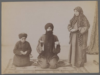 [Untitled],  One of 274 Vintage Photographs, late 19th-early 20th century. Albumen silver photograph, 6 1/8 x 8 3/16 in.  (15.6 x 20.8 cm). Brooklyn Museum, Purchase gift of Leona Soudavar in memory of Ahmad Soudavar, 1997.3.141