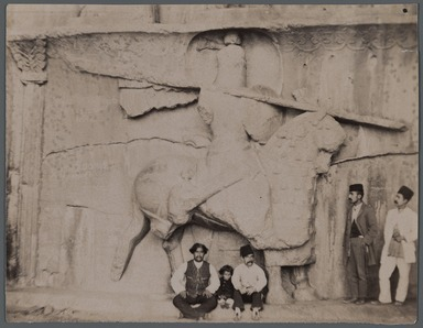 [Untitled], One of 274 Vintage Photographs, late 19th-early 20th century. Photograph, 4 5/16 x 5 1/2 in. (11 x 14 cm). Brooklyn Museum, Purchase gift of Leona Soudavar in memory of Ahmad Soudavar, 1997.3.151