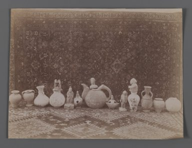 [Untitled],  One of 274 Vintage Photographs, late 19th-early 20th century. Albumen silver photograph, 6 1/8 x 8 1/8 in.  (15.5 x 20.6 cm). Brooklyn Museum, Purchase gift of Leona Soudavar in memory of Ahmad Soudavar, 1997.3.267