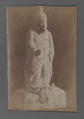 [Untitled],  One of 274 Vintage Photographs, late 19th-early 20th century. Albumen silver photograph, 5 5/8 x 8 7/16 in.  (14.3 x 21.5 cm). Brooklyn Museum, Purchase gift of Leona Soudavar in memory of Ahmad Soudavar, 1997.3.269