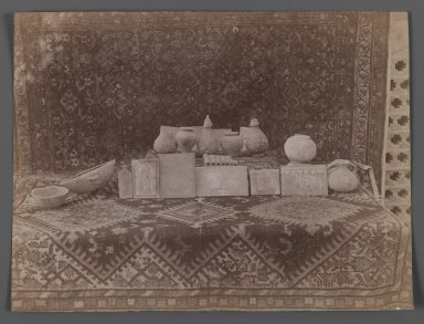 [Untitled],  One of 274 Vintage Photographs, late 19th-early 20th century. Albumen silver photograph, 6 1/8 x 8 1/8 in.  (15.6 x 20.7 cm). Brooklyn Museum, Purchase gift of Leona Soudavar in memory of Ahmad Soudavar, 1997.3.272