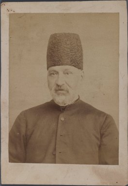 [Untitled], One of 274 Vintage Photographs, late 19th-early 20th century. Photograph, 6 1/2 x 4 1/2 in. (16.5 x 11.5 cm). Brooklyn Museum, Purchase gift of Leona Soudavar in memory of Ahmad Soudavar, 1997.3.96