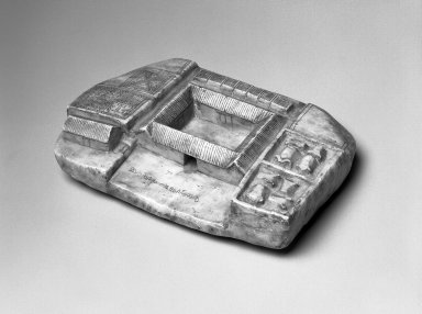 Amuletic Carving (Chacras), 19th-20th century. Stone, 1 1/2 x 6 1/2 x 4 1/2 in. (3.8 x 16.5 x 11.4 cm). Brooklyn Museum, Gift of Bill and Gale Simmons, 1997.58.2. Creative Commons-BY