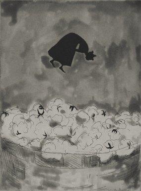 Kara Walker (American, born 1969). Cotton, 1997. Ink etching and aquatint on paper, sheet: 18 x 15 in. (45.7 x 38.1 cm). Brooklyn Museum, Emily Winthrop Miles Fund, 1997.80.4. © Kara Walker