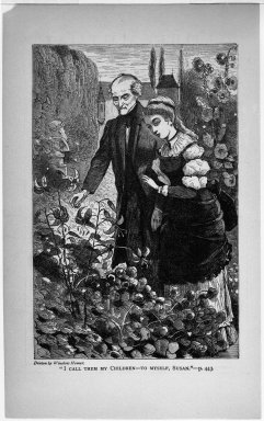 "Winslow Homer (American, 1836-1910). ""I Call Them My Children--To Myself, Susan,"" 1869. Wood engraving, Image: 7 x 4 1/2 in. (17.8 x 11.4 cm). Brooklyn Museum, Gift of Harvey Isbitts, 1998.105.137"