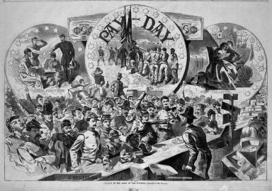Brooklyn Museum: Pay-Day in the Army of the Potomac