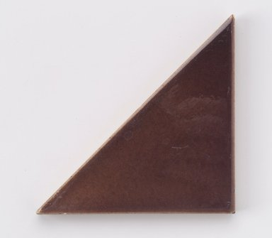 International Tile Company. Tile, 1882-1888. Earthenware, 1/2 x 4 1/4 x 2 1/8 in. (1.3 x 10.8 x 5.4 cm). Brooklyn Museum, Gift of Susan I. Padwee in honor of Dr. Barry R. Harwood, 1998.149.4. Creative Commons-BY