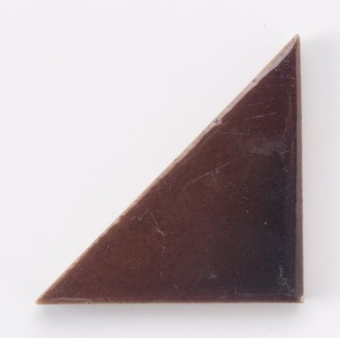 International Tile Company. Tile, 1882-1888. Earthenware, 1/2 x 6 x 3 in. (1.3 x 15.2 x 7.6 cm). Brooklyn Museum, Gift of Susan I. Padwee in honor of Dr. Barry R. Harwood, 1998.149.6. Creative Commons-BY