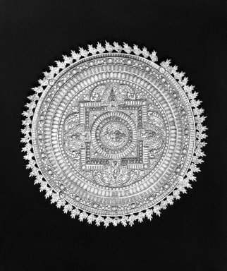 Brooklyn Museum: Mandala (Cosmic Diagram)