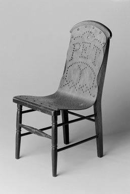 Gardner & Company (1863-1888). Child's Chair, Patented May 21, 1872. Wood, plywood, brass tacks, 18 1/8 x 8 5/8 x 10 in. (46.0 x 21.9 x 25.4 cm). Brooklyn Museum, Maria L. Emmons Fund, 1998.88. Creative Commons-BY