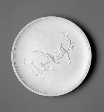 Richard-Ginori (Italian, 20th century). Plate, ca. 1949. Earthenware, 1 x 8 3/4 x 8 3/4 in.  (2.5 x 22.2 x 22.2 cm). Brooklyn Museum, Gift of the Estate of Miriam Godofsky, 1999.106.5. Creative Commons-BY