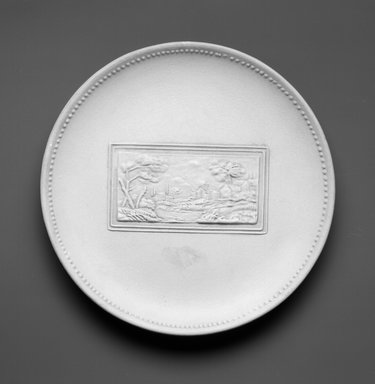 Richard-Ginori (Italian, 20th century). Plate, ca. 1949. Earthenware, 1 x 8 3/4 x 8 3/4 in.  (2.5 x 22.2 x 22.2 cm). Brooklyn Museum, Gift of the Estate of Miriam Godofsky, 1999.106.6. Creative Commons-BY