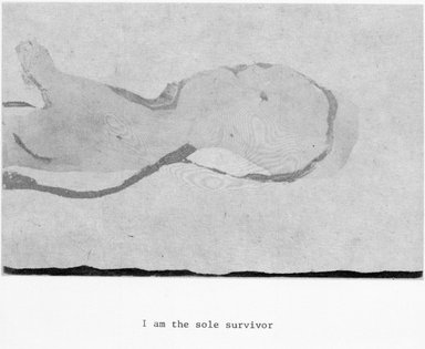 Brooklyn Museum: I am the Sole Survivor