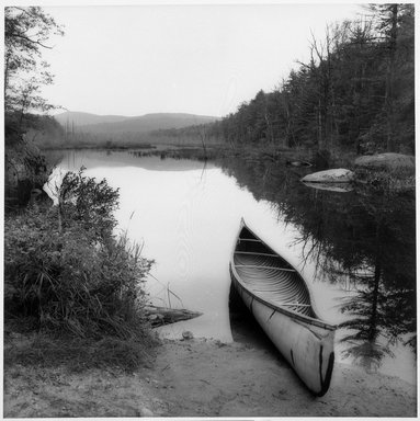 Sally Gall (American, born 1956). Canoe, 1990. Toned gelatin silver photograph, image: 15 x 15 in. (38.1 x 38.1 cm). Brooklyn Museum, Gift of Gerald Lotenberg, 1999.150.2. © Sally Gall
