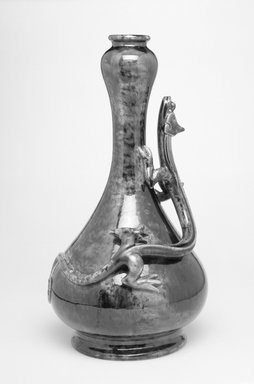 Worcester Royal Porcelain Co. (founded 1751). Bottle, shape 170, ca. 1870. Earthenware, 13 x 6 3/4 x 6 5/8 in. (33 x 17.1 x 16.8 cm). Brooklyn Museum, Gift of the Estate of Harold S. Keller, 1999.152.11. Creative Commons-BY