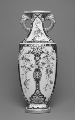 Worcester Royal Porcelain Co. (founded 1751). Vase, 1875. Porcelain, 12 7/8 x 5 1/4 x 2 5/8 in. (32.7 x 13.3 x 6.7 cm). Brooklyn Museum, Gift of the Estate of Harold S. Keller, 1999.152.135. Creative Commons-BY
