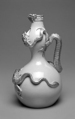 Worcester Royal Porcelain Co. (founded 1751). Jug, shape 1035, introduced 1884, made after 1884. Porcelain, 11 x 6 1/2 x 6 1/4 in. (27.9 x 16.5 x 15.9 cm). Brooklyn Museum, Gift of the Estate of Harold S. Keller, 1999.152.14. Creative Commons-BY
