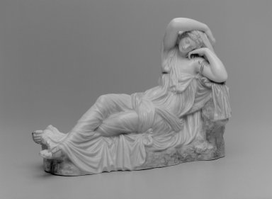 Worcester Royal Porcelain Co. (founded 1751). Ariadne, Shape 72, after 1876. Porcelain, 9 1/2 x 13 1/4 x 5 1/2 in. (24.1 x 33.7 x 14 cm). Brooklyn Museum, Gift of the Estate of Harold S. Keller, 1999.152.179. Creative Commons-BY