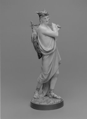 Worcester Royal Porcelain Co. (founded 1751). Figure of Hunter, 1868. Porcelain, 17 1/2 x 6 1/4 x 6 1/2 in. (44.5 x 15.9 x 16.5 cm). Brooklyn Museum, Gift of the Estate of Harold S. Keller, 1999.152.181. Creative Commons-BY