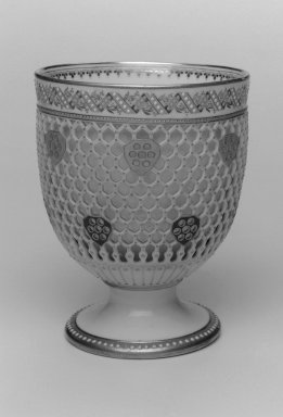 Worcester Royal Porcelain Co. (founded 1751). Bowl, 1876. Porcelain, 5 3/4 x 4 5/8 x 4 5/8 in. (14.6 x 11.7 x 11.7 cm). Brooklyn Museum, Gift of the Estate of Harold S. Keller, 1999.152.200. Creative Commons-BY
