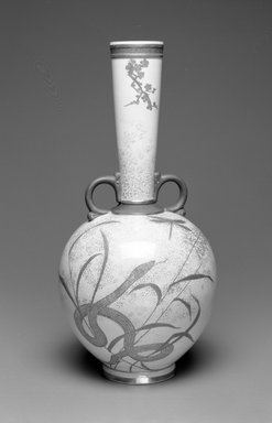 J. Callowhill & Co.. Vase, ca. 1880. Porcelain, 14 1/2 x 7 1/8 x 7 1/8 in. (36.8 x 18.1 x 18.1 cm). Brooklyn Museum, Gift of the Estate of Harold S. Keller, 1999.152.235. Creative Commons-BY