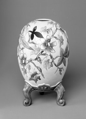 Worcester Royal Porcelain Co. (founded 1751). Vase, shape 190, introduced before 1872, made ca. 1870. Porcelain, 11 7/8 x 4 x 4 in. (30.2 x 10.2 x 10.2 cm). Brooklyn Museum, Gift of the Estate of Harold S. Keller, 1999.152.269. Creative Commons-BY