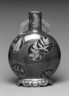 Worcester Royal Porcelain Co. (founded 1751). Vase, 1877. Porcelain, 11 x 8 x 4 3/8 in. (27.9 x 20.3 x 11.1 cm). Brooklyn Museum, Gift of the Estate of Harold S. Keller, 1999.152.318. Creative Commons-BY