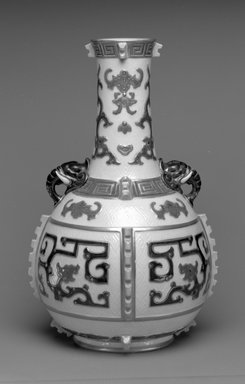 Worcester Royal Porcelain Co. (founded 1751). Vase, shape 320, introduced 1873, made 1876. Porcelain, 13 1/2 x 8 1/2 x 8 1/2 in. (34.3 x 21.6 x 21.6 cm). Brooklyn Museum, Gift of the Estate of Harold S. Keller, 1999.152.320. Creative Commons-BY