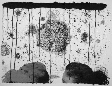 Kiki Smith (American, born Germany, 1954). [Untitled], 1991. Lithograph, 22 1/2 x 30 1/2 in.  (57.2 x 77.5 cm). Brooklyn Museum, Emily Winthrop Miles Fund, 1999.17.10. © Kiki Smith