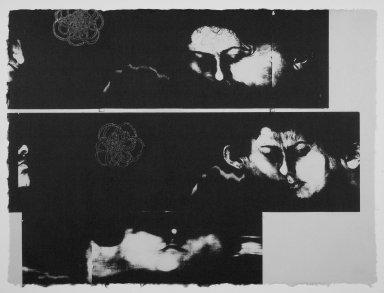 Kiki Smith (American, born Germany, 1954). [Untitled], 1991. Lithograph, 22 1/2 x 30 1/2 in.  (57.2 x 77.5 cm). Brooklyn Museum, Emily Winthrop Miles Fund, 1999.17.4. © Kiki Smith