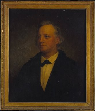 George Augustus Baker Jr. (American, 1821-1880). Henry Ward Beecher, 1874. Oil on canvas, 30 1/8 x 25 1/8in. (76.5 x 63.8cm). Brooklyn Museum, Gift of the American Art Council, 1999.54.1