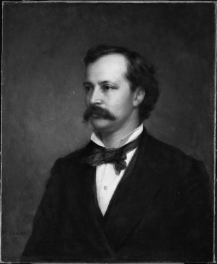 George Augustus Baker Jr. (American, 1821-1880). John Claflin Southwick, 1869 and 1875. Oil on canvas, 30 1/8 x 25 in. (76.5 x 63.5 cm). Brooklyn Museum, Gift of the American Art Council, 1999.54.2