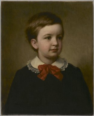George Augustus Baker Jr. (American, 1821-1880). Horace Southwick, 1877. Oil on canvas, 21 1/8 x 17 3/16 in. (53.7 x 43.7 cm). Brooklyn Museum, Gift of the American Art Council, 1999.54.4